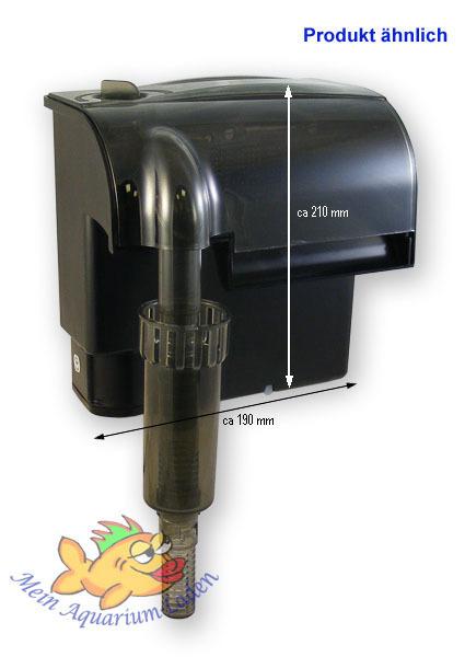 hf 0600 atman einh ngfilter aussenfilter mit pumpe 250 l h 6 watt aquarium. Black Bedroom Furniture Sets. Home Design Ideas