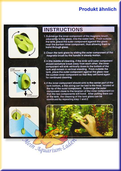 algen magnet nf serie s bis 4 mm glas aquarium scheiben reinigung mein aquarium laden. Black Bedroom Furniture Sets. Home Design Ideas