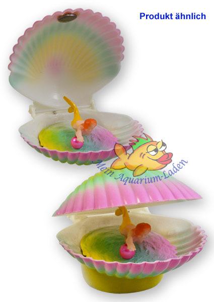 luft muschel mit perle aquarium zubeh r accessoires dekoration gestaltung. Black Bedroom Furniture Sets. Home Design Ideas