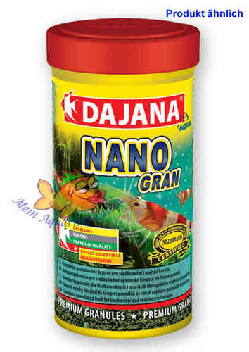 Nano Gran 100ml Garnelen Basis-Futter DAJANA Aquarium