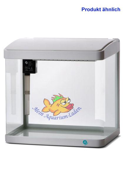 a320w wei glas aquarium komplett set 21 l led beleuchtung und filter atman. Black Bedroom Furniture Sets. Home Design Ideas