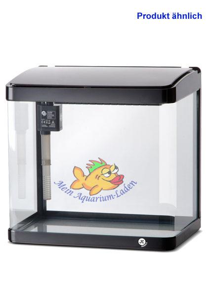 a320b schwarz glas aquarium komplett set 21 l led beleuchtung und filter atman ebay. Black Bedroom Furniture Sets. Home Design Ideas