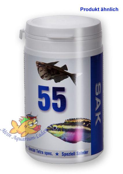Sak 55 2 granulat 300ml vollwertiges alleinfutter for Zierfische aquarium